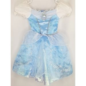 Disney Store Cinderella Glittery Dress Size 2